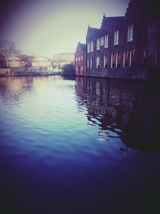 Camden Canal Blue Water fotos de stock