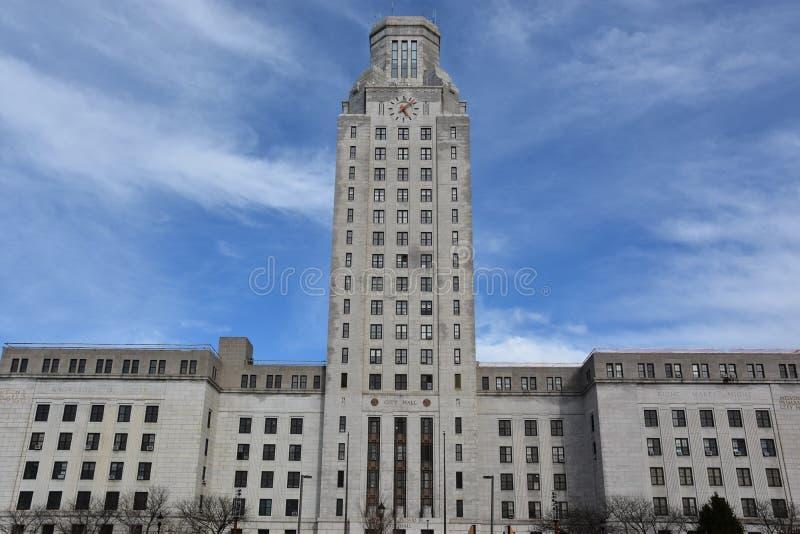 Camden City Hall en New Jersey imágenes de archivo libres de regalías