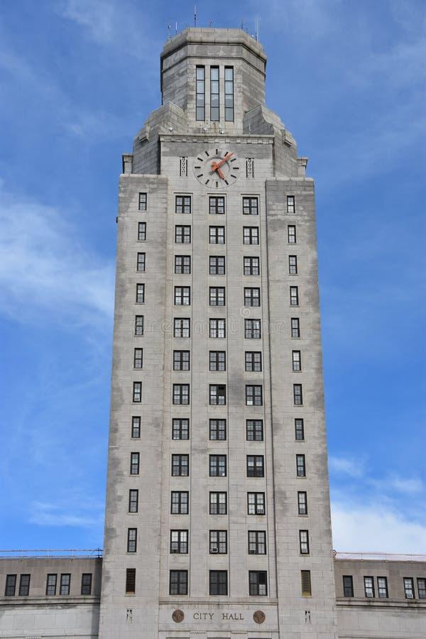 Camden City Hall en New Jersey fotos de archivo
