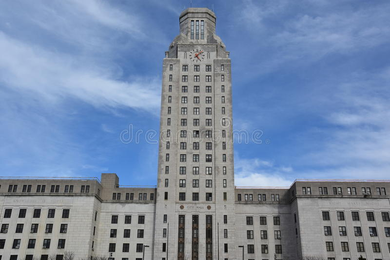 Camden City Hall in New Jersey stock foto's