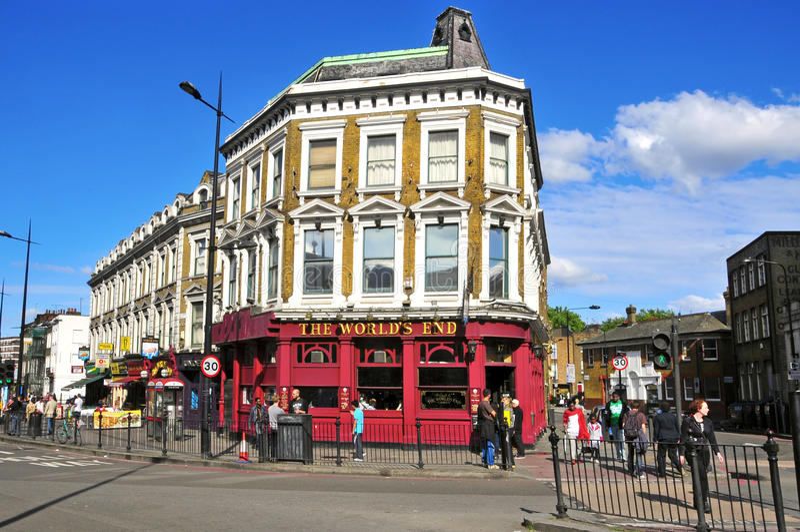 Camden City in London, United Kingdom