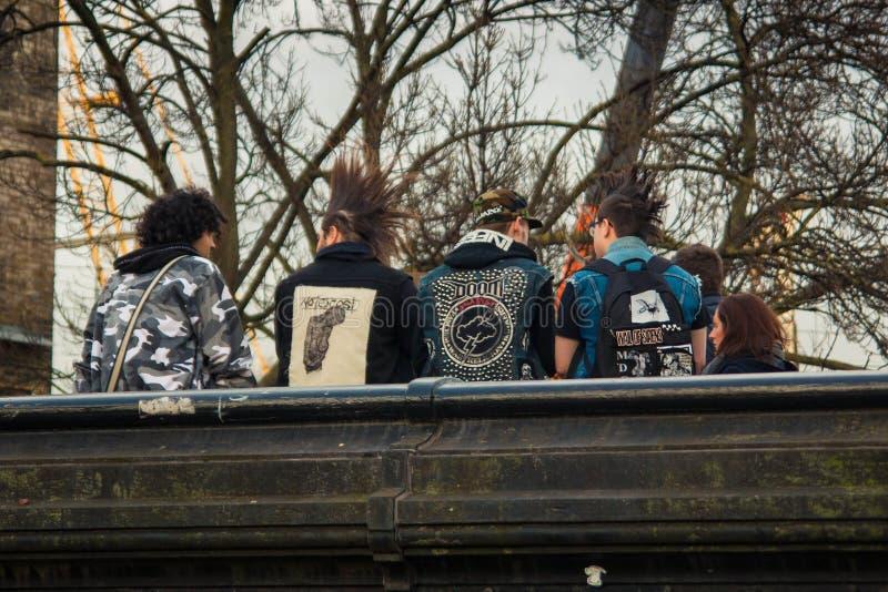 Camden Grodzcy ludzie, Londyn fotografia stock