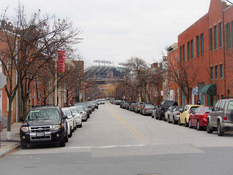 Camden jardy Baltimore Maryland obrazy stock