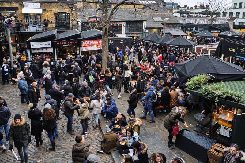 Camden kędziorek w Londyn, UK zdjęcia stock