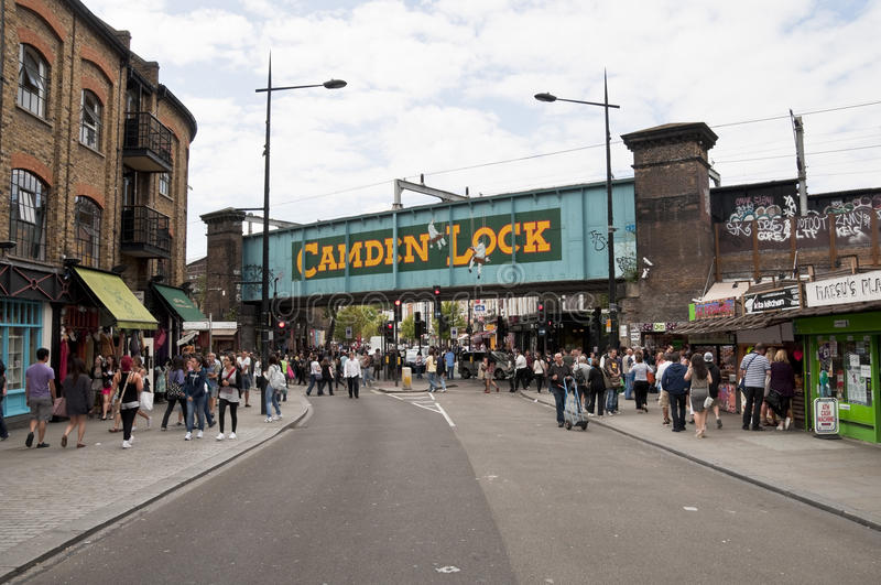 camden kędziorek London obrazy stock