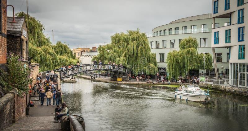 Camden Lock, Londen royalty-vrije stock afbeelding