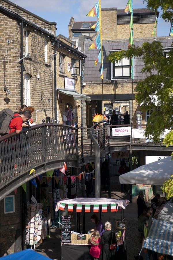 Camden, Londres, le grand Londres, R-U, septembre 2013, Camden Town West Yard Market photo stock