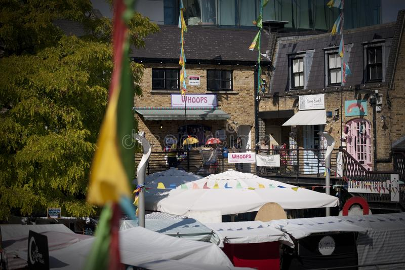 Camden, Londres, le grand Londres, R-U, septembre 2013, Camden Town West Yard Market images stock