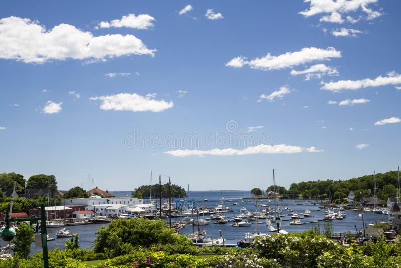 Camden, Maine, usa fotografia stock