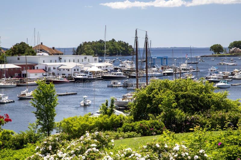 Camden, Maine, usa zdjęcia stock