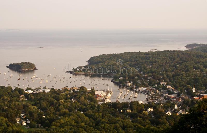 Camden, Maine royalty free stock images