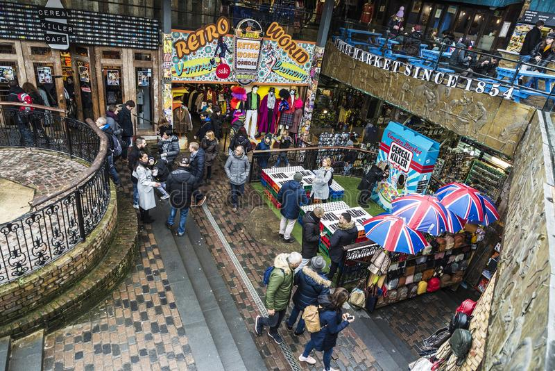 Camden rynek w Londyn, Anglia, Zjednoczone Królestwo fotografia stock
