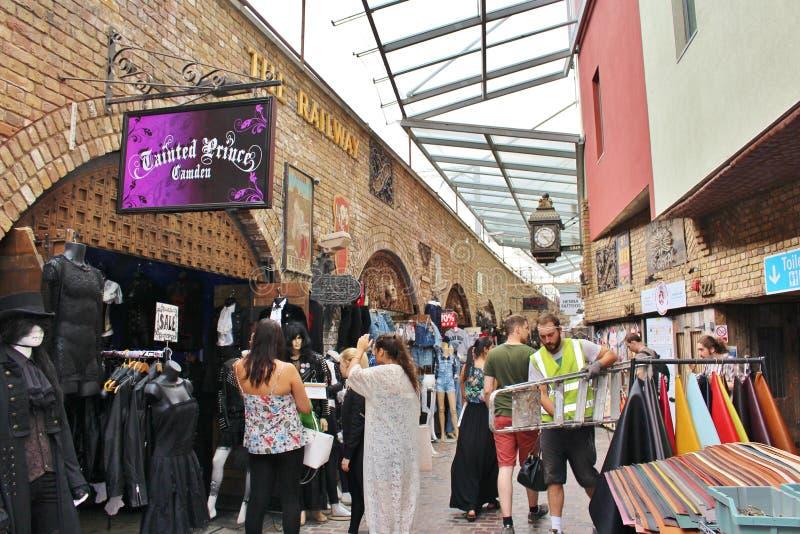Camden Stables Market arkivfoton