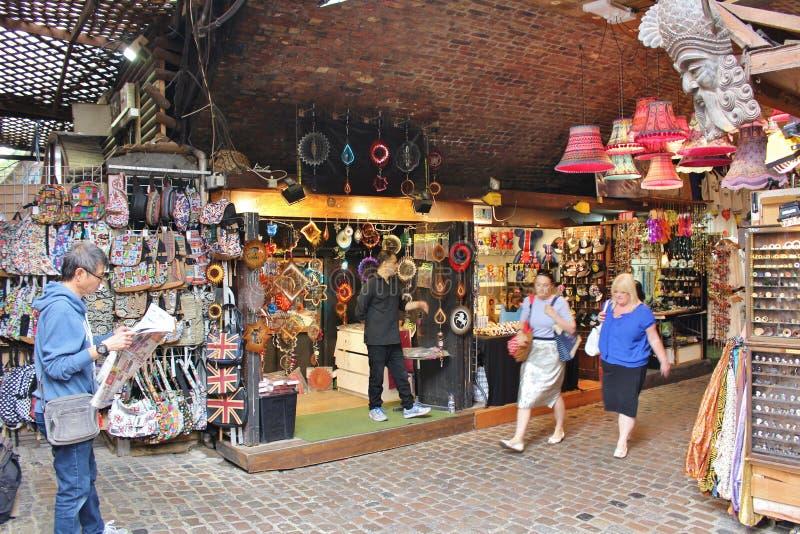 Camden Stables Market royaltyfri bild