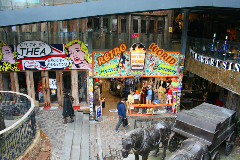 Camden Town - Londres images stock