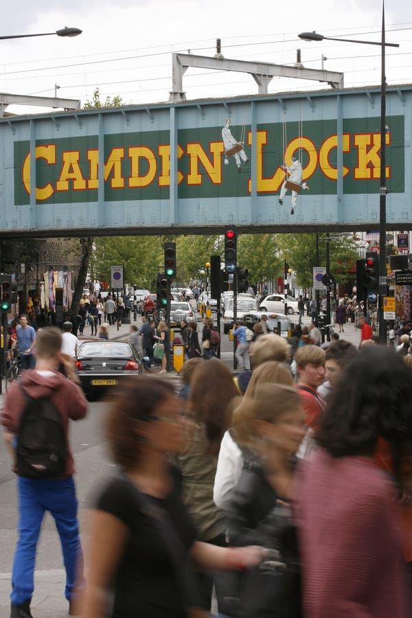Download Camden Town, Market, London Editorial Stock Image - Image: 25495529