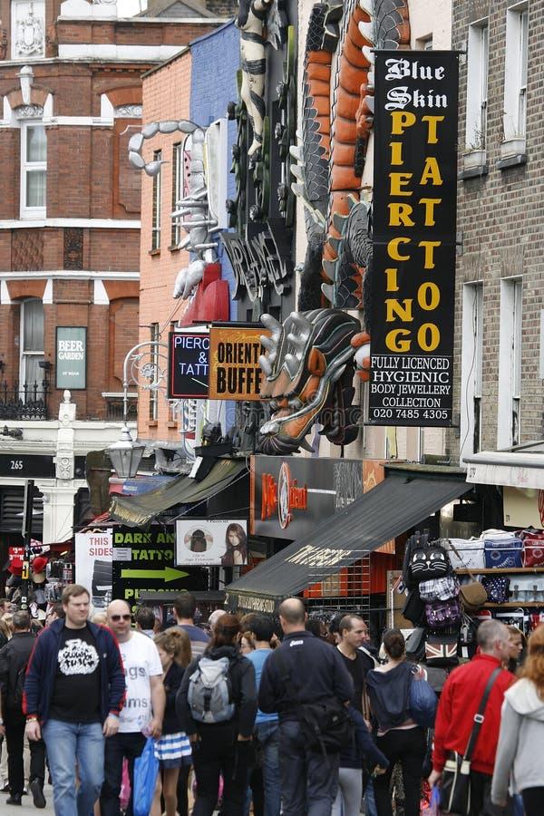 Download Camden Town, Market, London Editorial Stock Photo - Image: 25495553