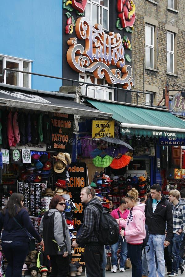 Download Camden Town, Market, London Editorial Stock Image - Image: 25495569