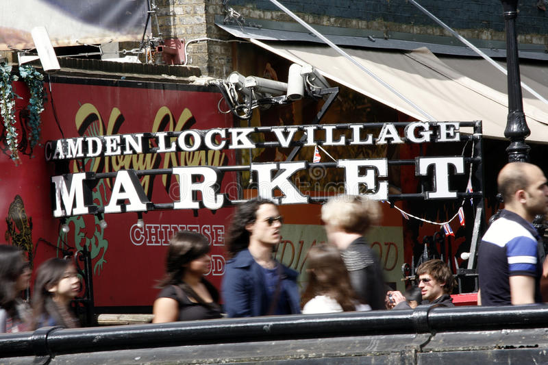 Download Camden Town, Market, London Editorial Photography - Image: 25495822