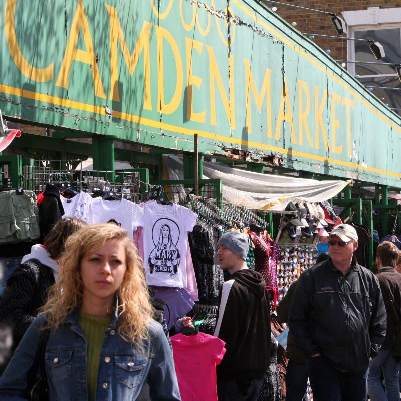 Camden Town, Market, London Editorial Photo