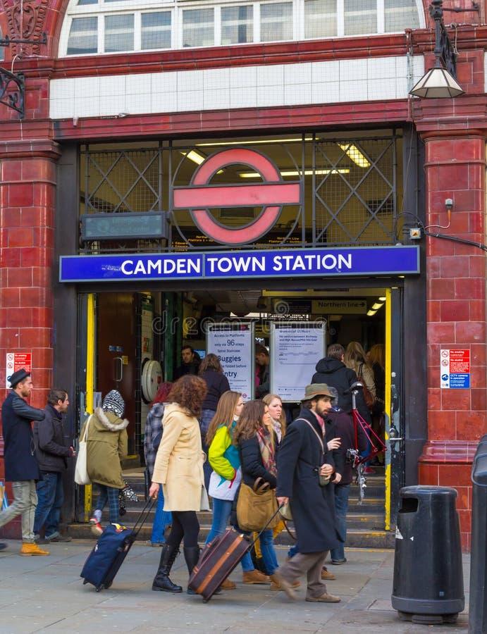 Camden Tube Station royaltyfri bild