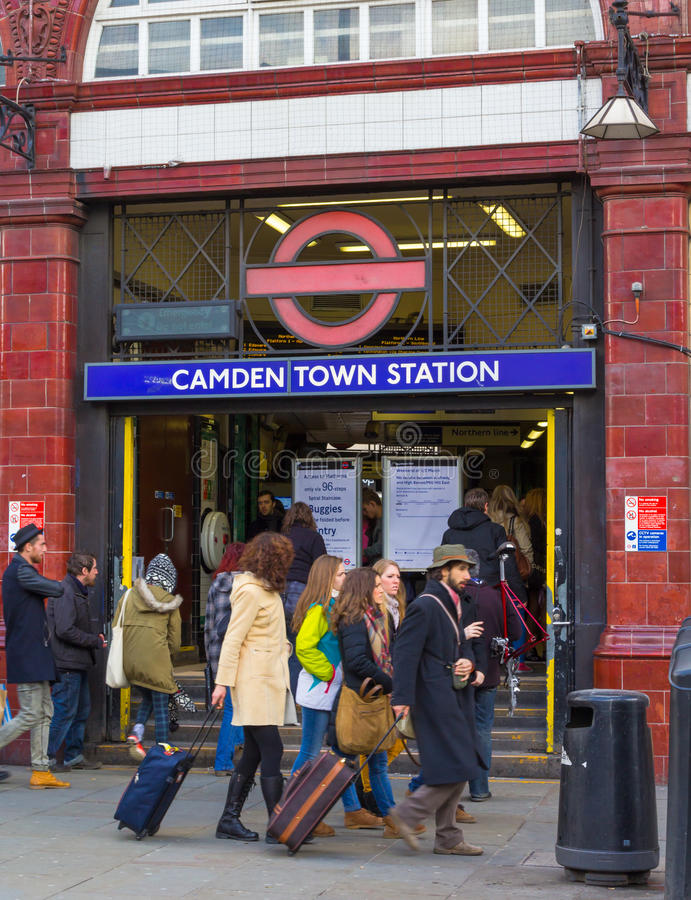 Free Camden Tube Station Royalty Free Stock Image - 38412866