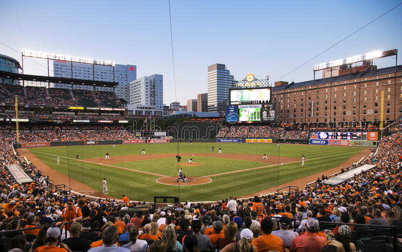 Camden Yards royaltyfria foton