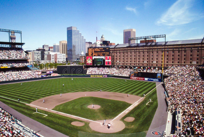 Camden Yards Baltimore, Maryland royaltyfri fotografi