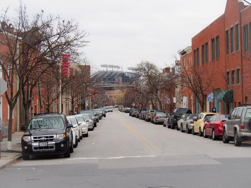 Camden Yards Baltimore Maryland imagens de stock