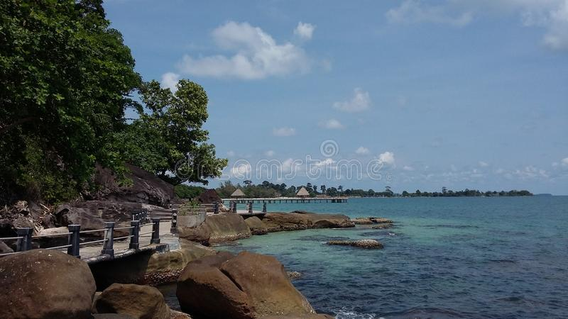 Camdoga, Sihanoukville obraz stock