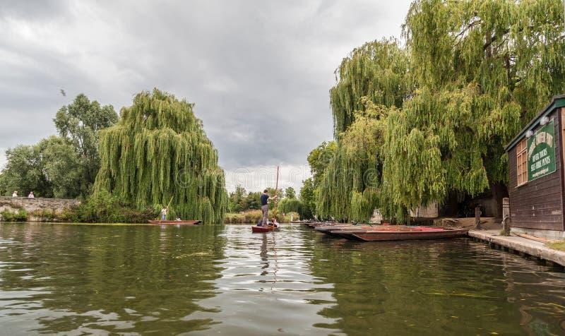 Came Cambridge Angleterre de rivière photographie stock