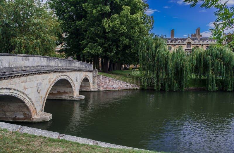 Came Cambridge Angleterre de rivière photos libres de droits
