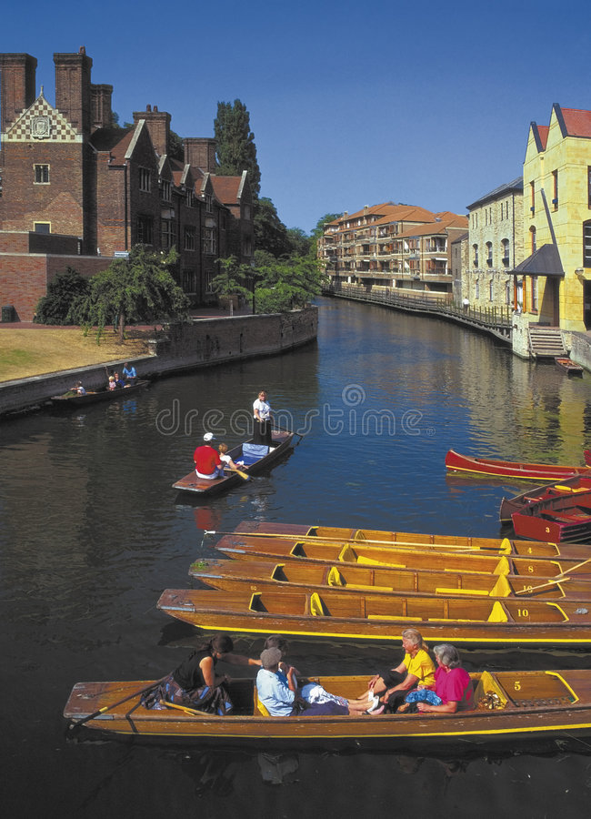 Came Cambridge de fleuve photo stock
