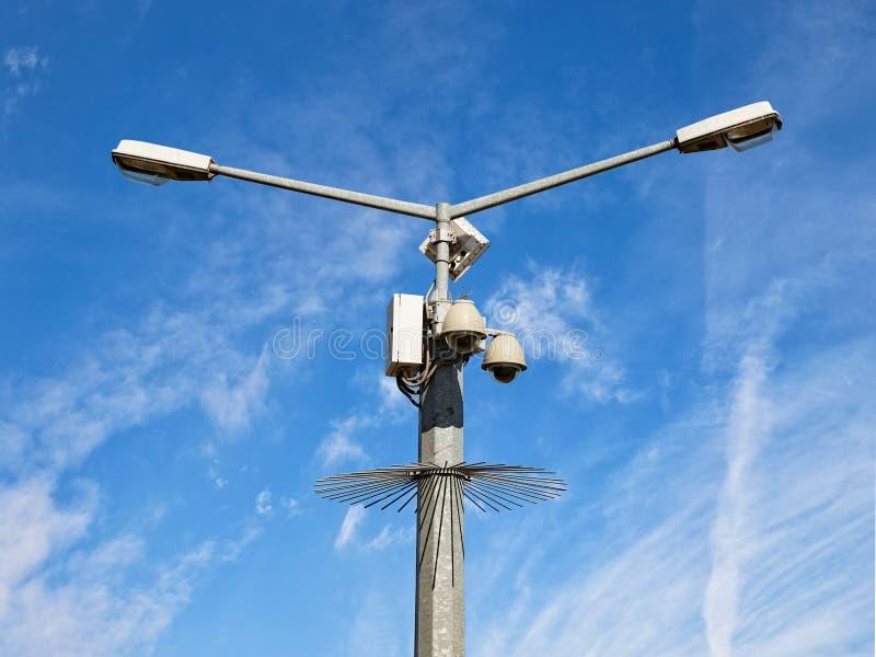 Came de degré de sécurité de télévision en circuit fermé photographie stock