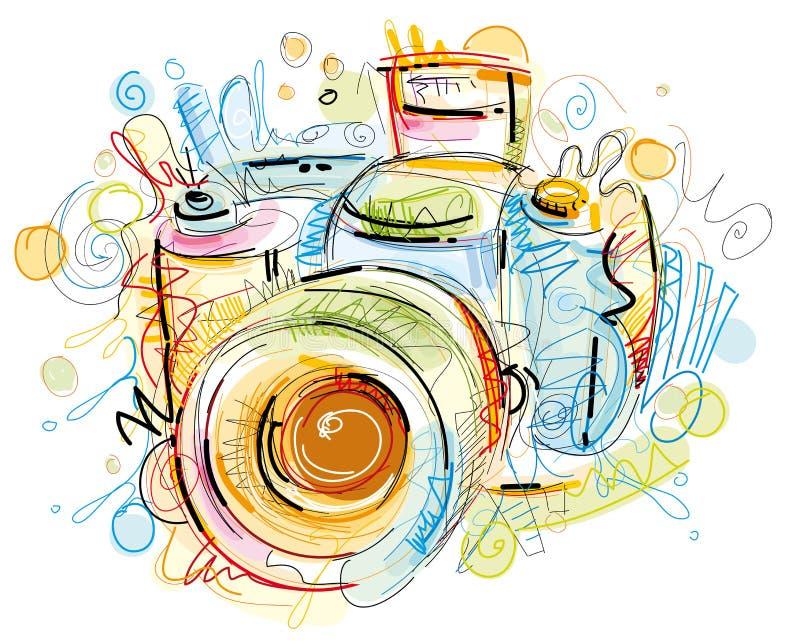 Came de Digital illustration stock