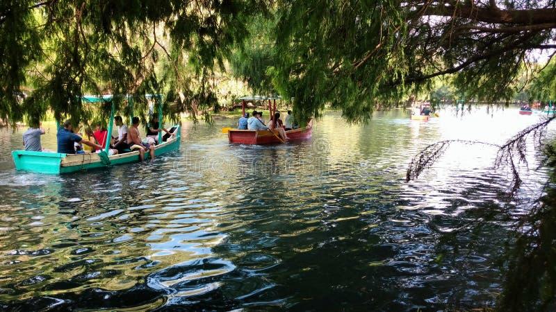 Camecuaro jezioro zdjęcia royalty free