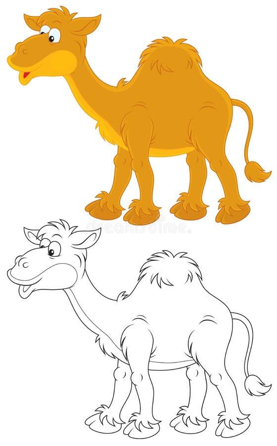 Download Camel stock vector. Illustration of white, clip, art - 27384753