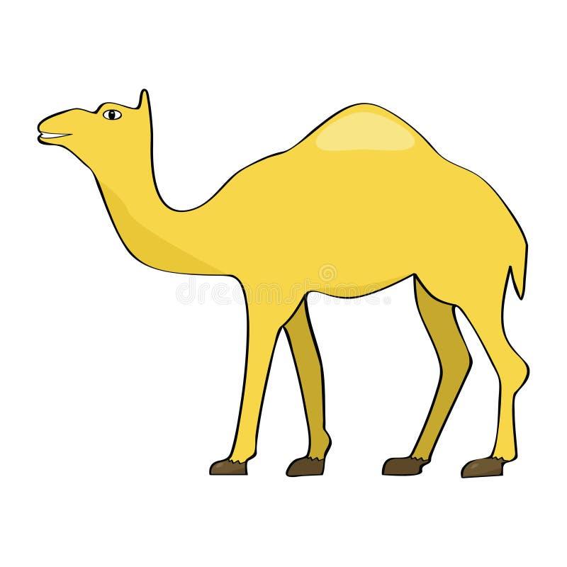 Download Camel stock vector. Image of animal, sahara, vector, happy - 8656104
