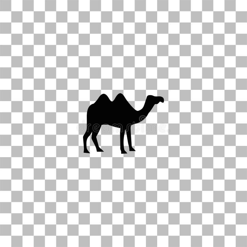 Camel icon flat stock illustration