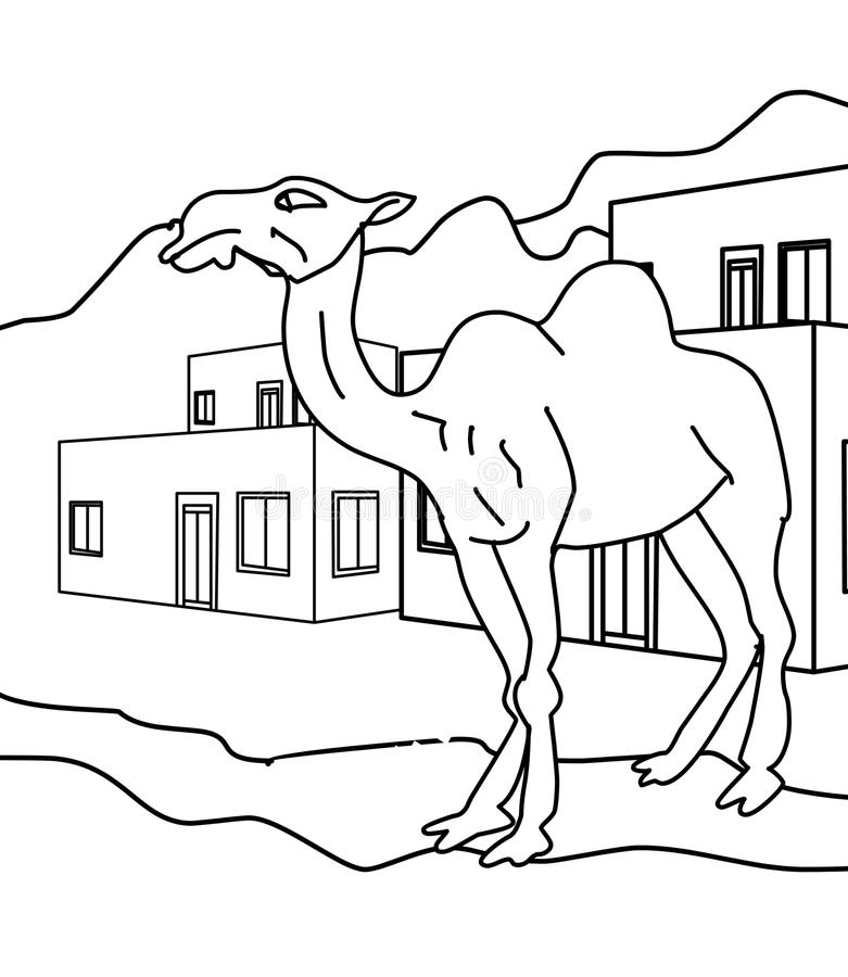 Three Kings on Camels coloring page   Free Printable Coloring Pages   900x781