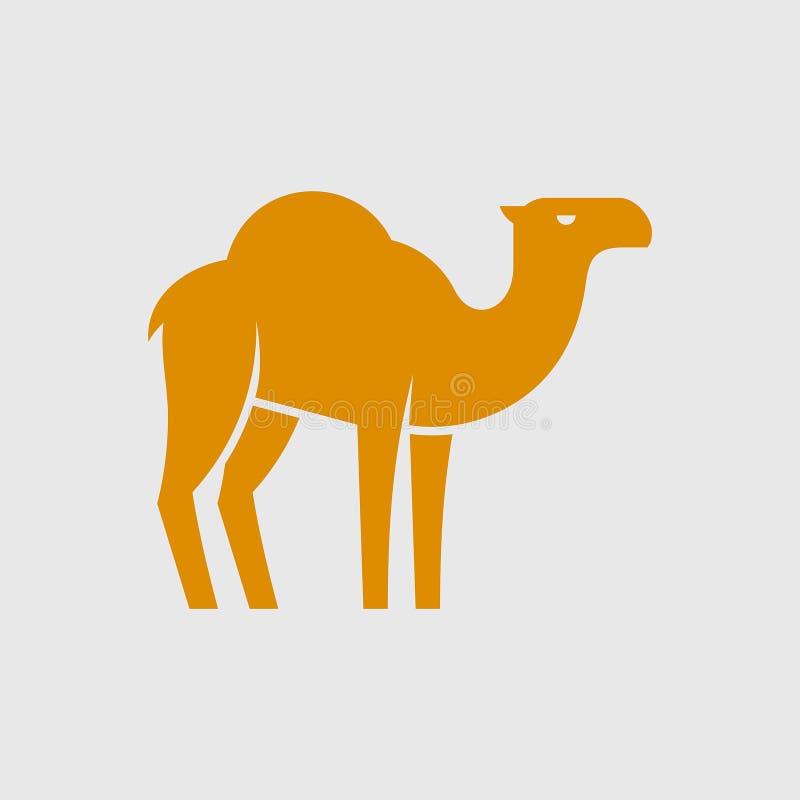 Camel logo. Icon design. Template elements stock illustration