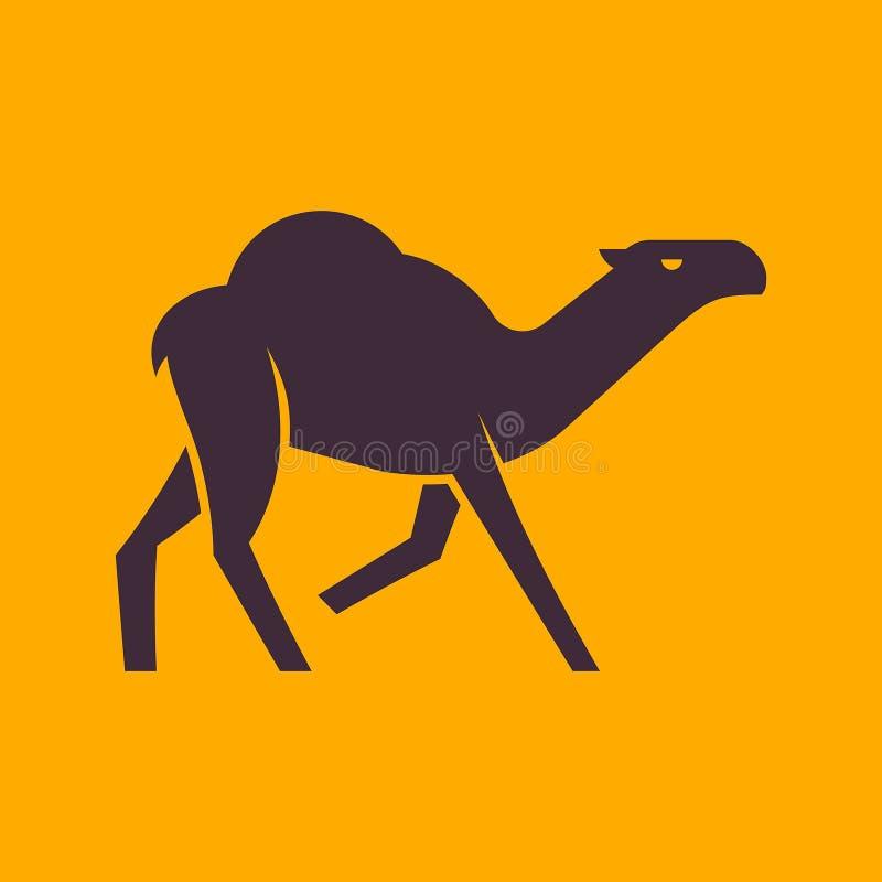 Camel logo. Icon design. Template elements royalty free illustration