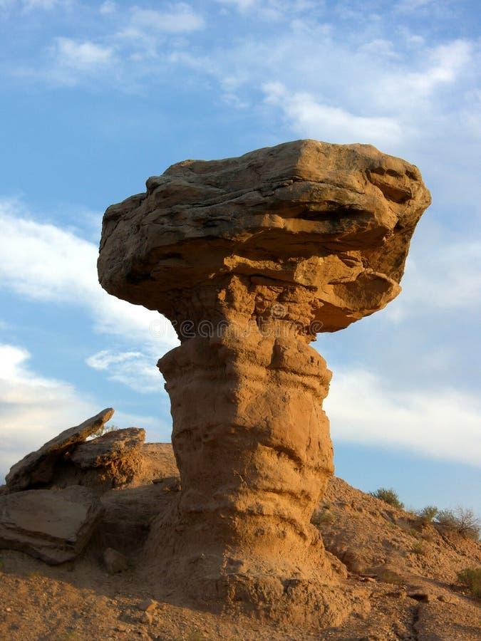 Camel Rock. Photo of Camel Rock near Santa Fe New Mexico stock photography