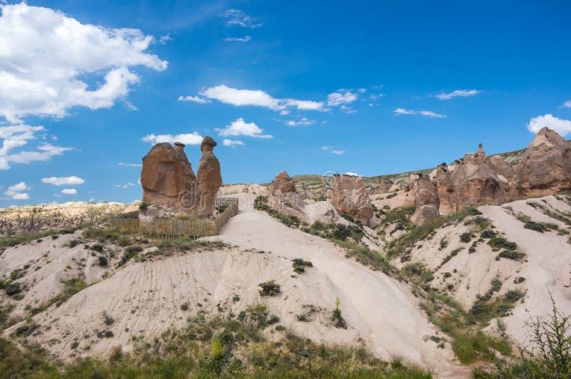 Camel rock in Cappadocia royalty free stock photos