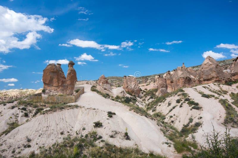 Camel rock in Cappadocia stock photo
