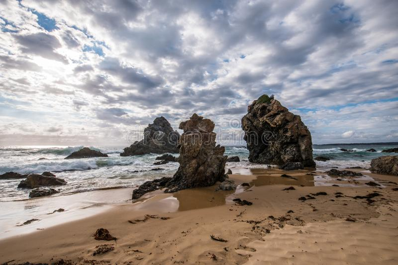 Camel Rock, Australia. Camel Rock, striking rock formation, which is around 450 million years old, found in NSW Australia royalty free stock image