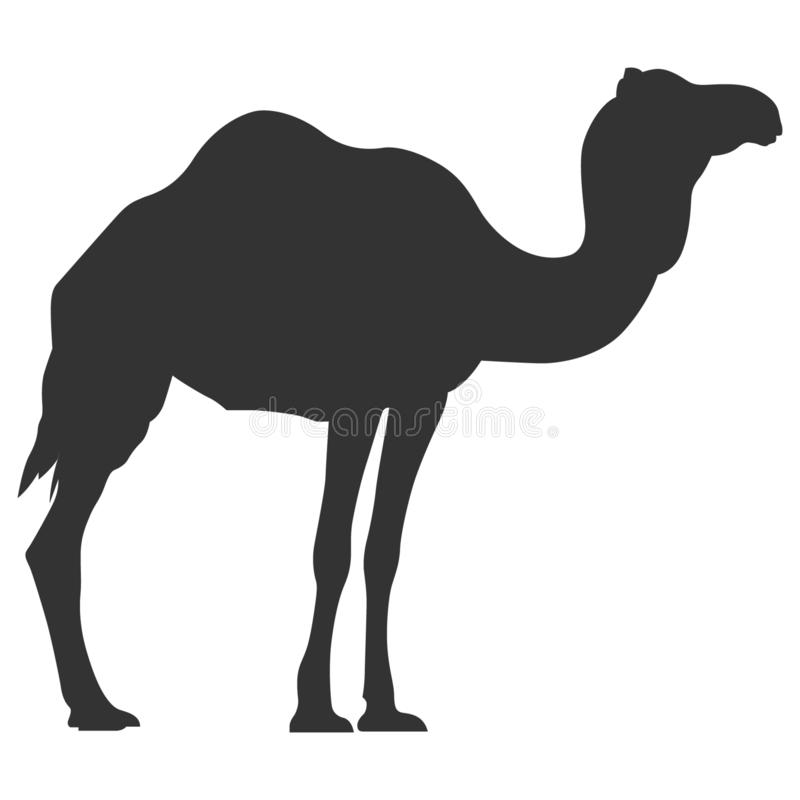 Camel vector eps silhouette Hand drawn Crafteroks svg free, free svg file, eps, dxf, vector, logo, silhouette, icon, instant downl. Camel silhouette vector eps royalty free illustration