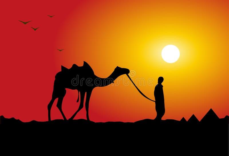 Download Camel traveling stock vector. Illustration of illustration - 15689512