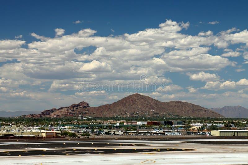 Camelback Mountain in Phoenix, Arizona royalty free stock images