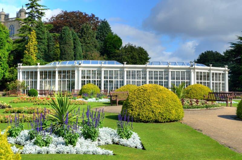 Camellia House, Wollaton Park, Nottingham, UK royalty free stock images